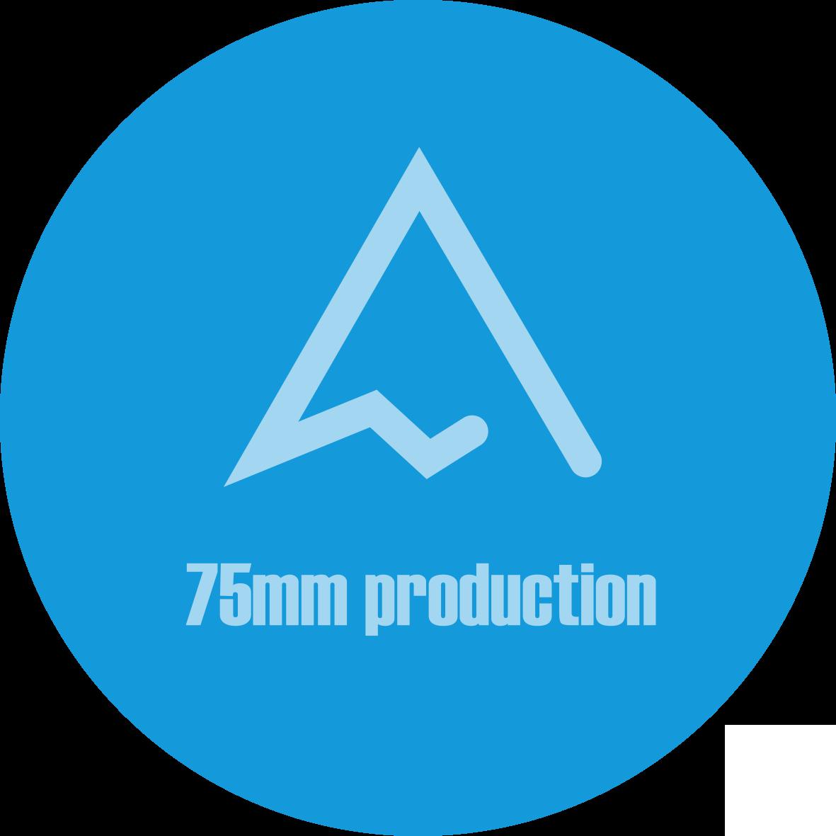 1 – Logo 75mm texte